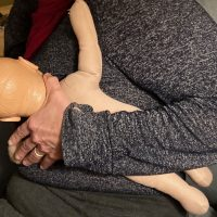 Comfortable Breastfeeding Position